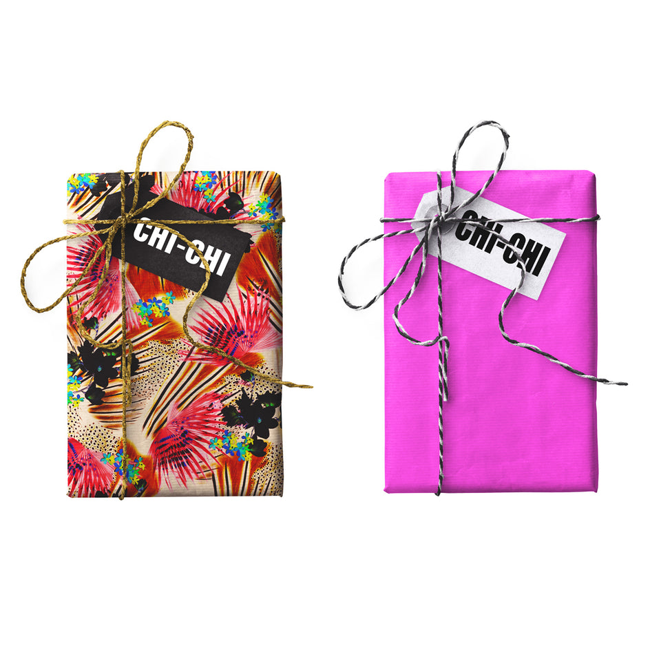 Chi-Chi Double-sided Gift Wrap