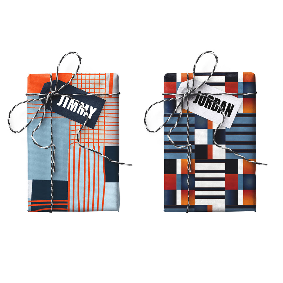 Jimmy Jordan Double-sided Gift Wrap