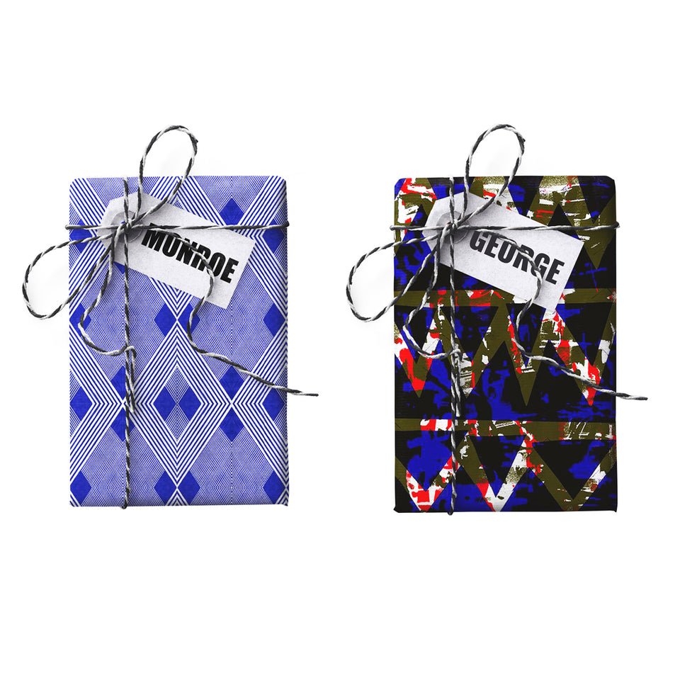 George Monroe Double-sided Gift Wrap
