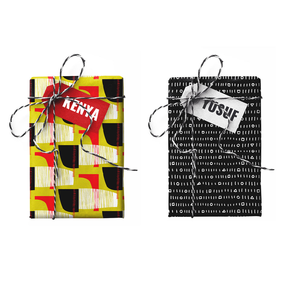 Kenya Yusuf Double-sided Gift Wrap