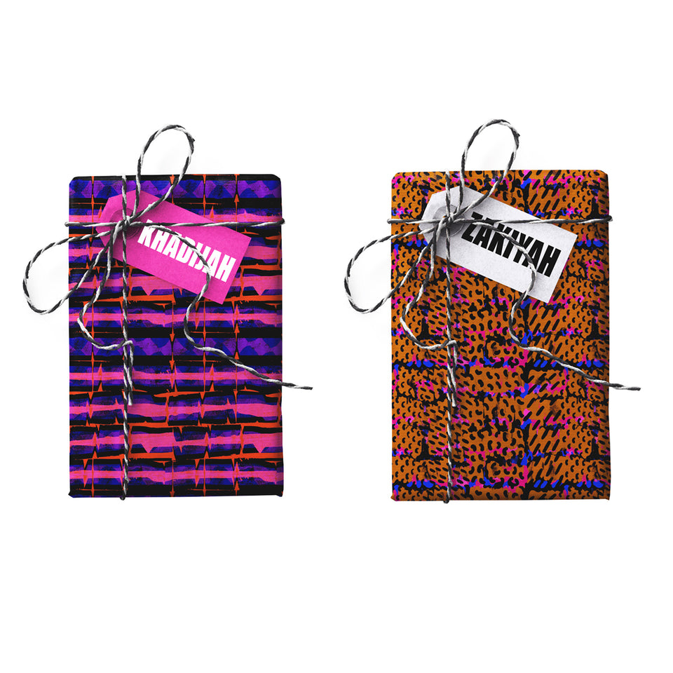 Khadijah Zakiyah Double-sided Gift Wrap