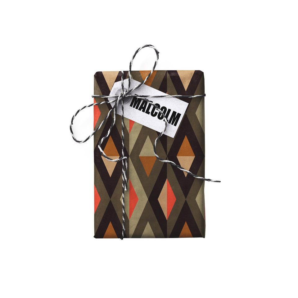 Malcolm Betty Double-sided Gift Wrap (STONE PAPER)