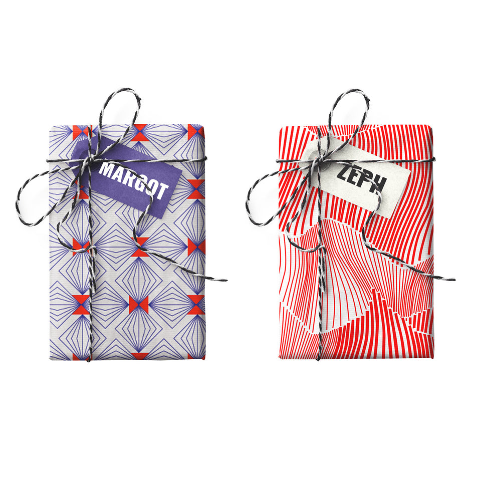Margot Zeph Double-sided Gift Wrap (STONE PAPER)