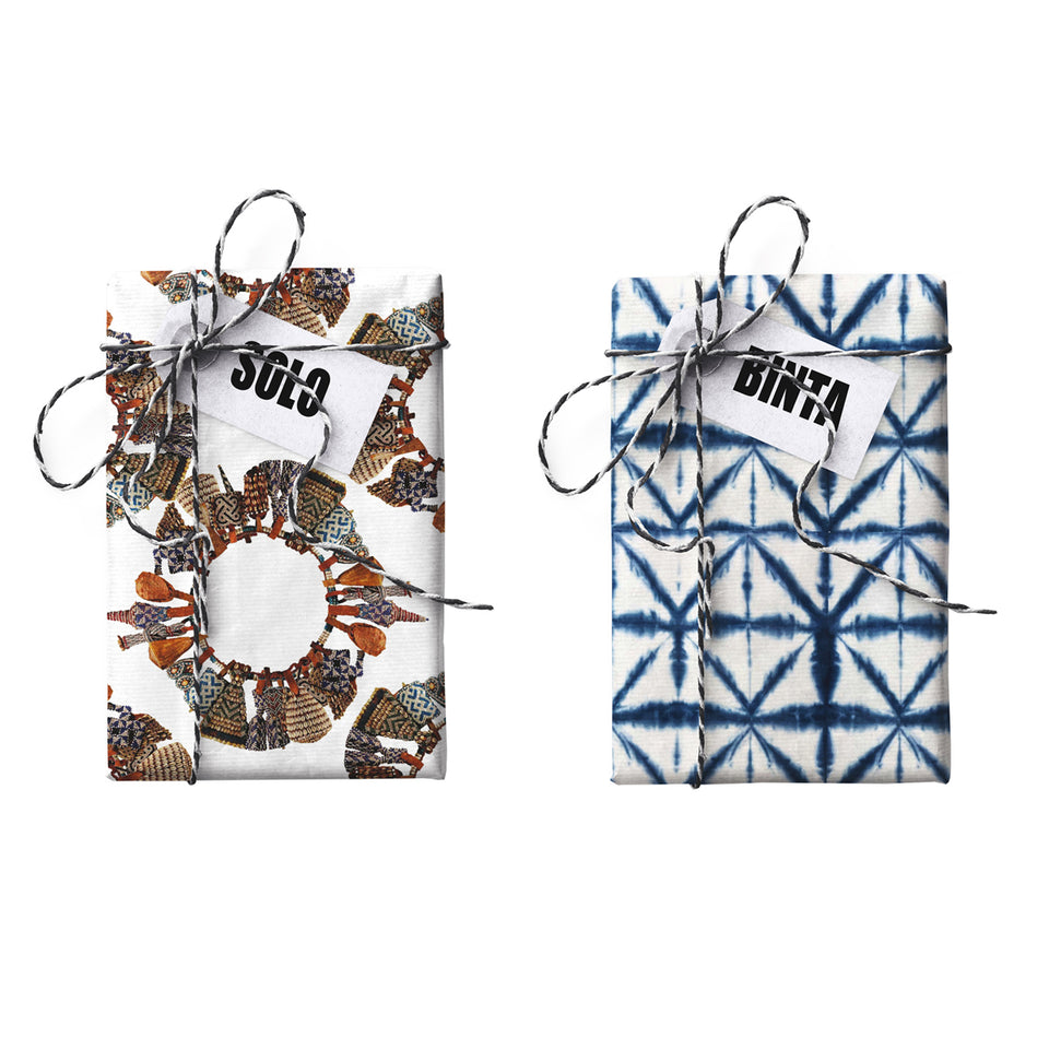 Solo Binta Double-sided Gift Wrap (STONE PAPER)
