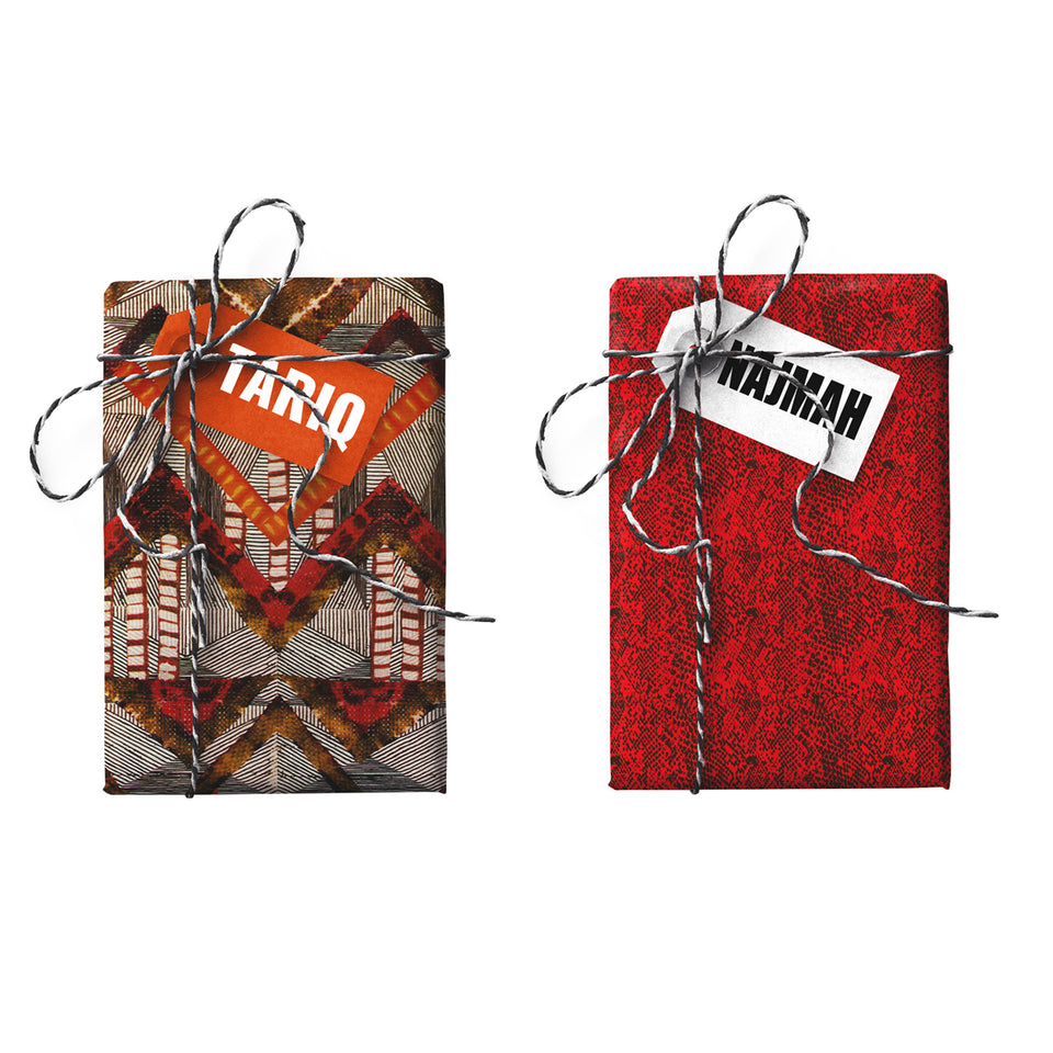Tariq Najmah Double-sided Gift Wrap