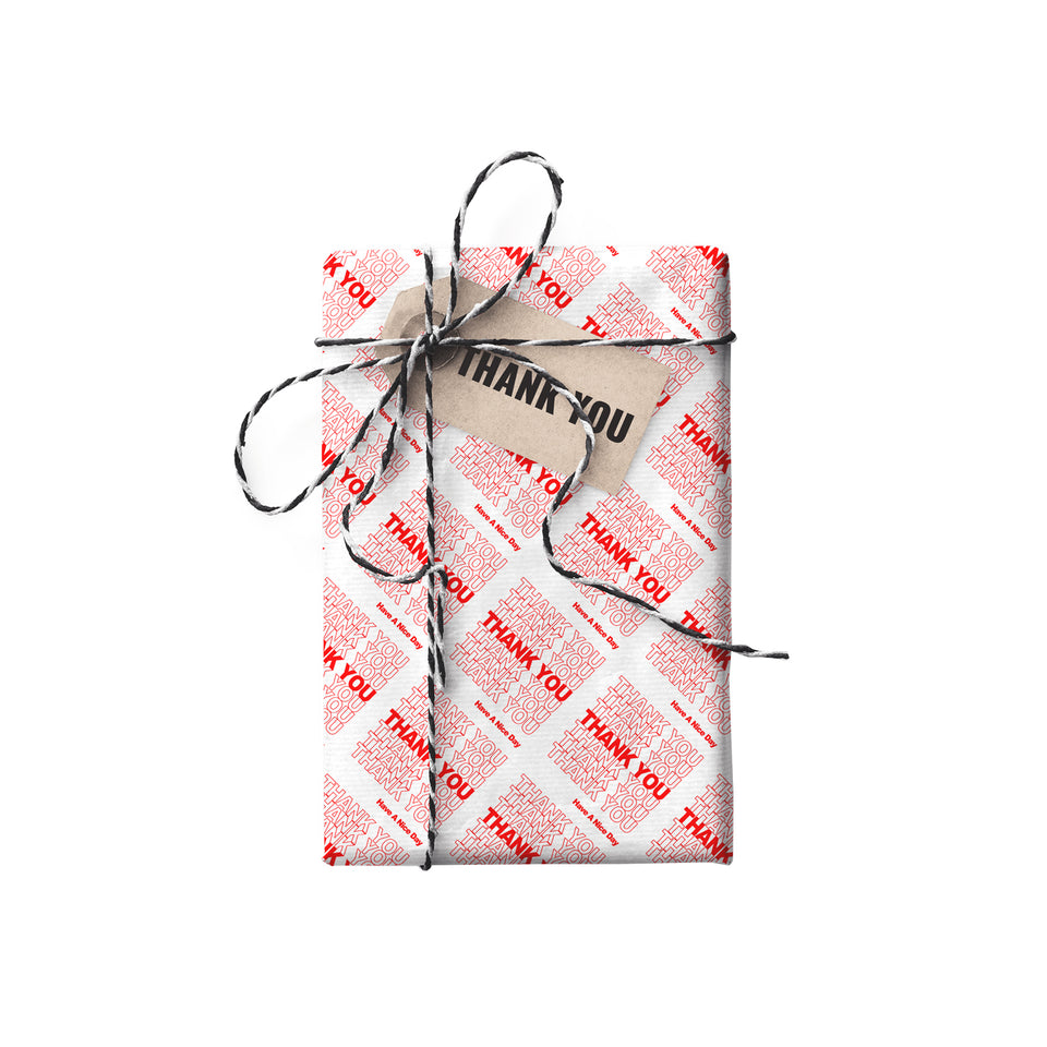 Nana -- Thank You NYC Double-sided Gift Wrap (STONE PAPER)