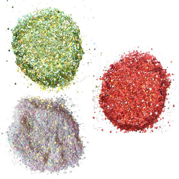 Christmas Glitter Bundle (Chunky)
