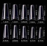 Easy Coffin Shape Nail Tips