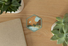 Load image into Gallery viewer, Escalante utah sticker on wood background