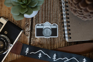 Vintage Photographer Sticker