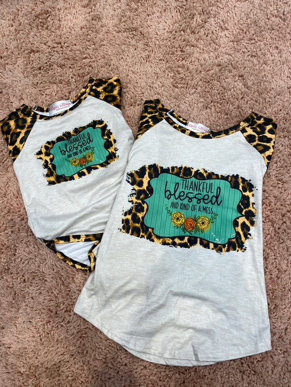 Blessed Leopard Shirt