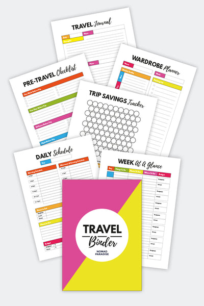 Travel Binder {30+ pages}