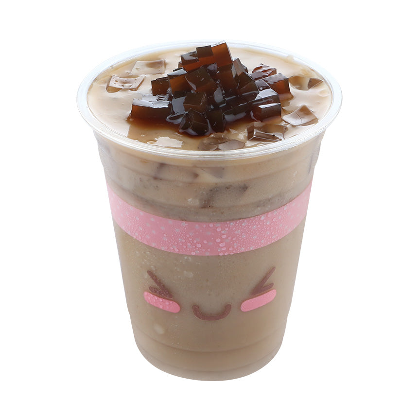 Coffee Milk Tea w/ coffee jelly