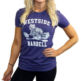Westside Barbell T-Shirt für Frauen in Blau