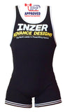 Inzer lifting singlet, Powerlifting singlet in schwarz