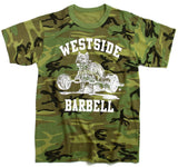 Westside Barbell Camouflage T-Shirt Vorderseite