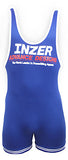 Inzer lifting singlet, Powerlifting singlet in blau