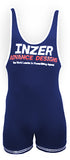 Inzer lifting singlet, Powerlifting singlet in dunkelblau
