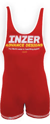 Inzer lifting singlet, Powerlifting singlet in rot