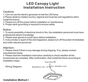 130W Contemporary LED Light