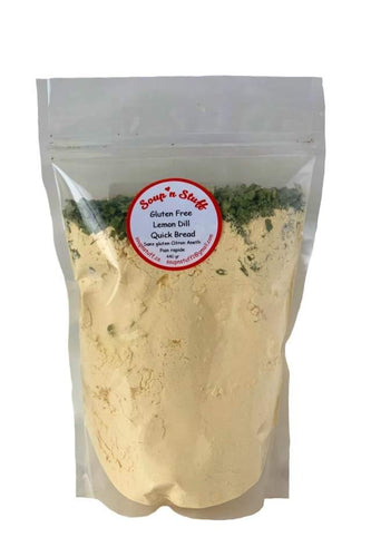 Quick Bread Mix, Lemon Dill, Gluten Free, 440g - Floral Acres Greenhouse & Garden Centre