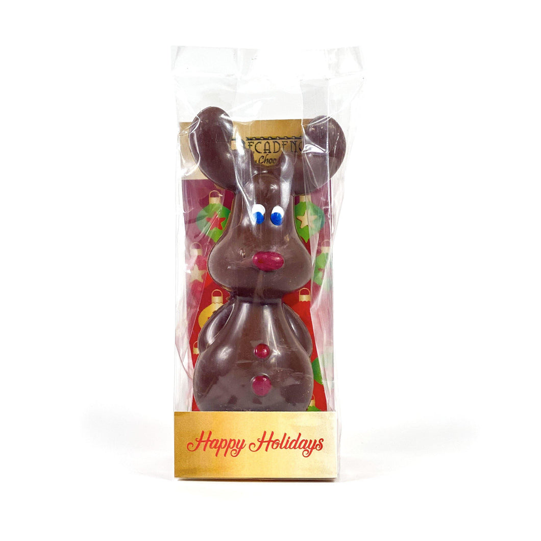 Novelty Chocolate, Reindeer, 100g