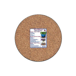 Plant Mat, 10in, Cork, Molded Plastic Bottom - Floral Acres Greenhouse & Garden Centre