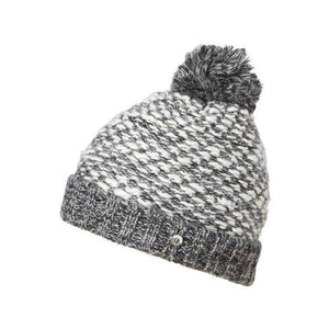 Ladies Beanie, Luca, Grey, One-Size