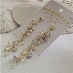 Earrings, Drop Stud, Willa Cascading Frshwtr Pearl - Floral Acres Greenhouse & Garden Centre