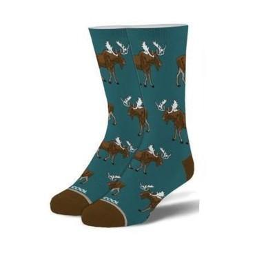 Men's Folded Crew Socks, 6-13, Moose - Floral Acres Greenhouse & Garden Centre