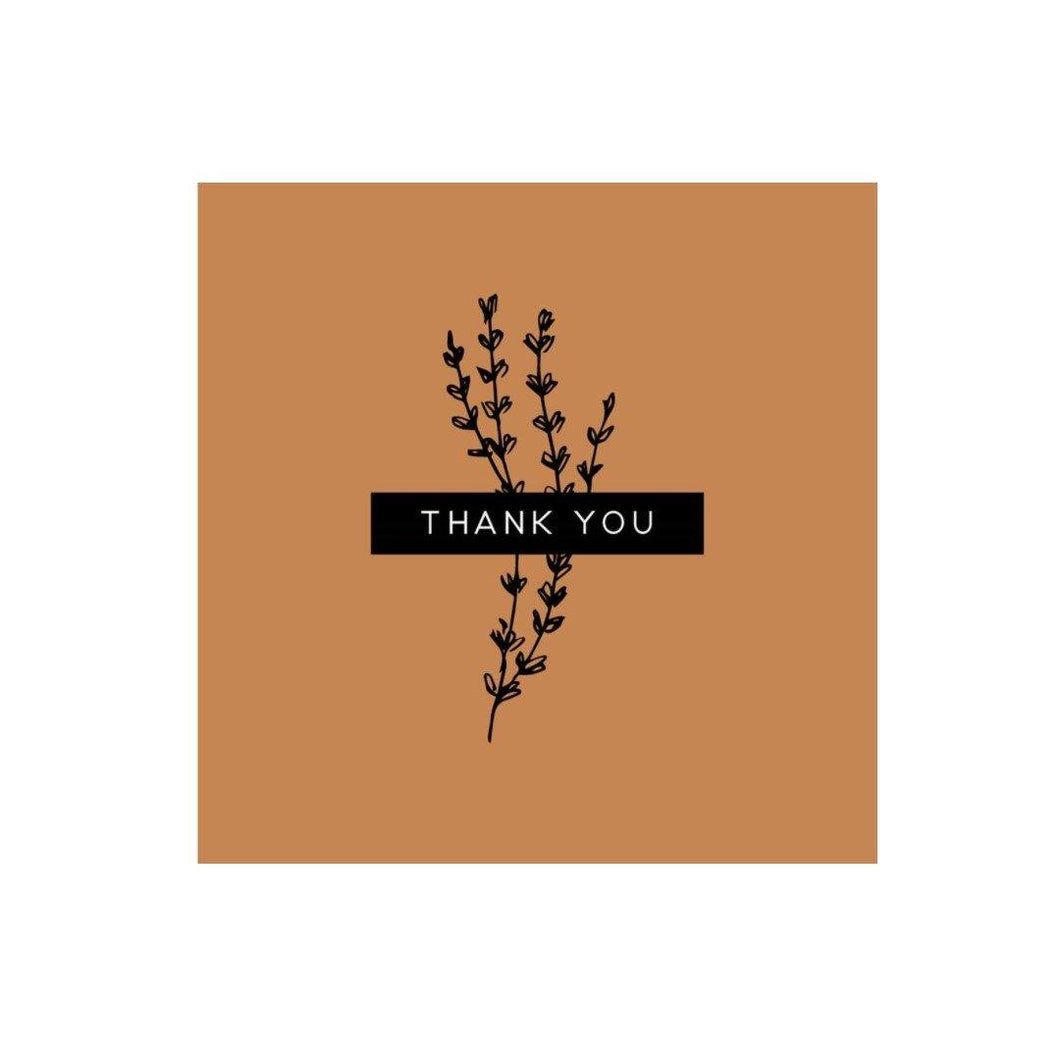 Mini Card, 'Thank You' - Floral Acres Greenhouse & Garden Centre