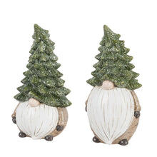 Load image into Gallery viewer, Statuary, Ceramic, Evergreen Gnome, 15.5in