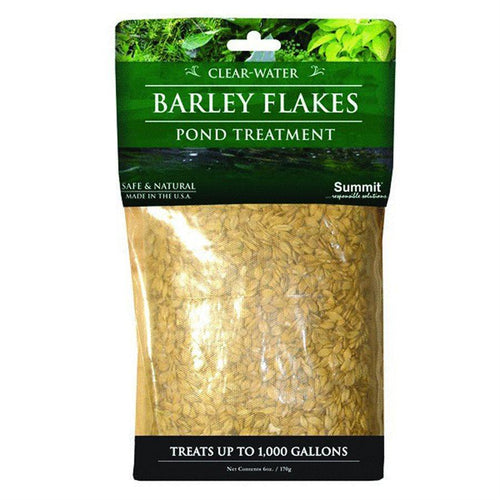 Barley Flakes, Pond Treatment, Treats 1000 Gallons - Floral Acres Greenhouse & Garden Centre