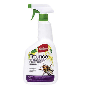 Insecticide, Safer's Trounce Yard & Garden, 1L - Floral Acres Greenhouse & Garden Centre