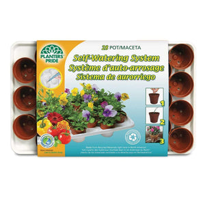 Greenhouse Kit, Round, Coir Pot, 28 Cells