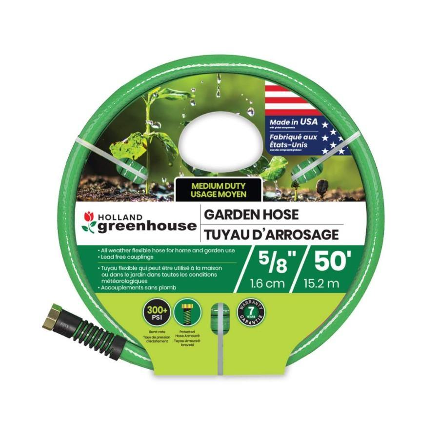 Hose, Medium Duty, 5/8in, 50ft - Floral Acres Greenhouse & Garden Centre