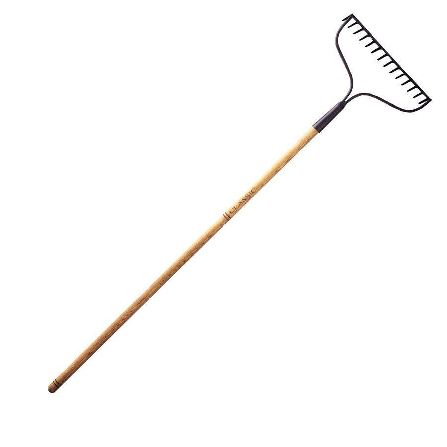 Flexrake, Oak Handle, Bow Rake, 48in - Floral Acres Greenhouse & Garden Centre