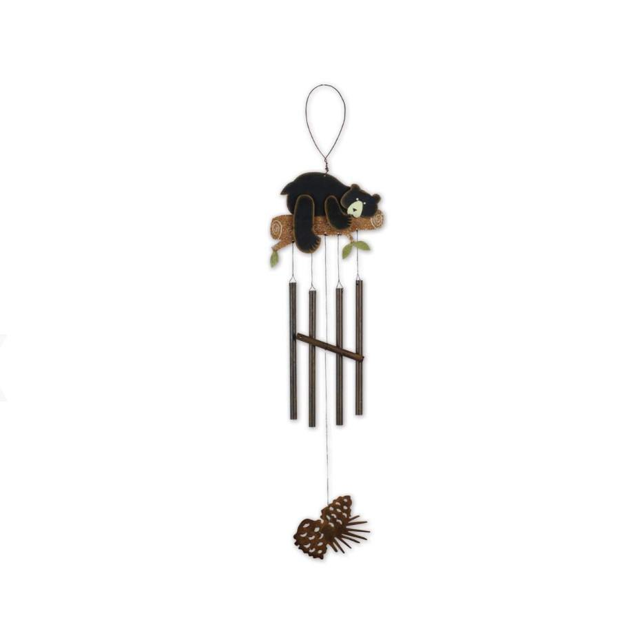 Metal Wind Chime, Lodge - Bear Hug