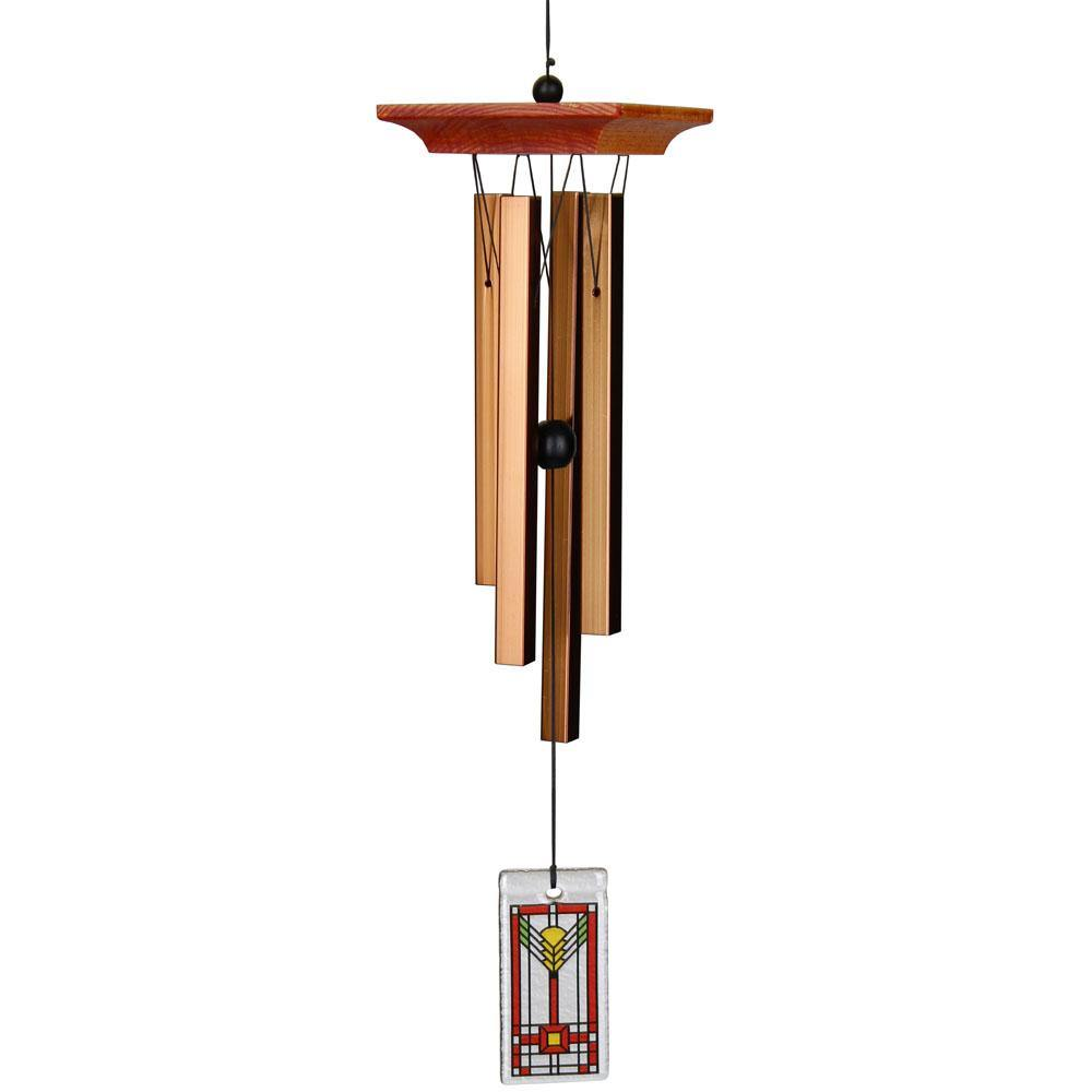 American Arts & Crafts Wind Chime, 31in Length