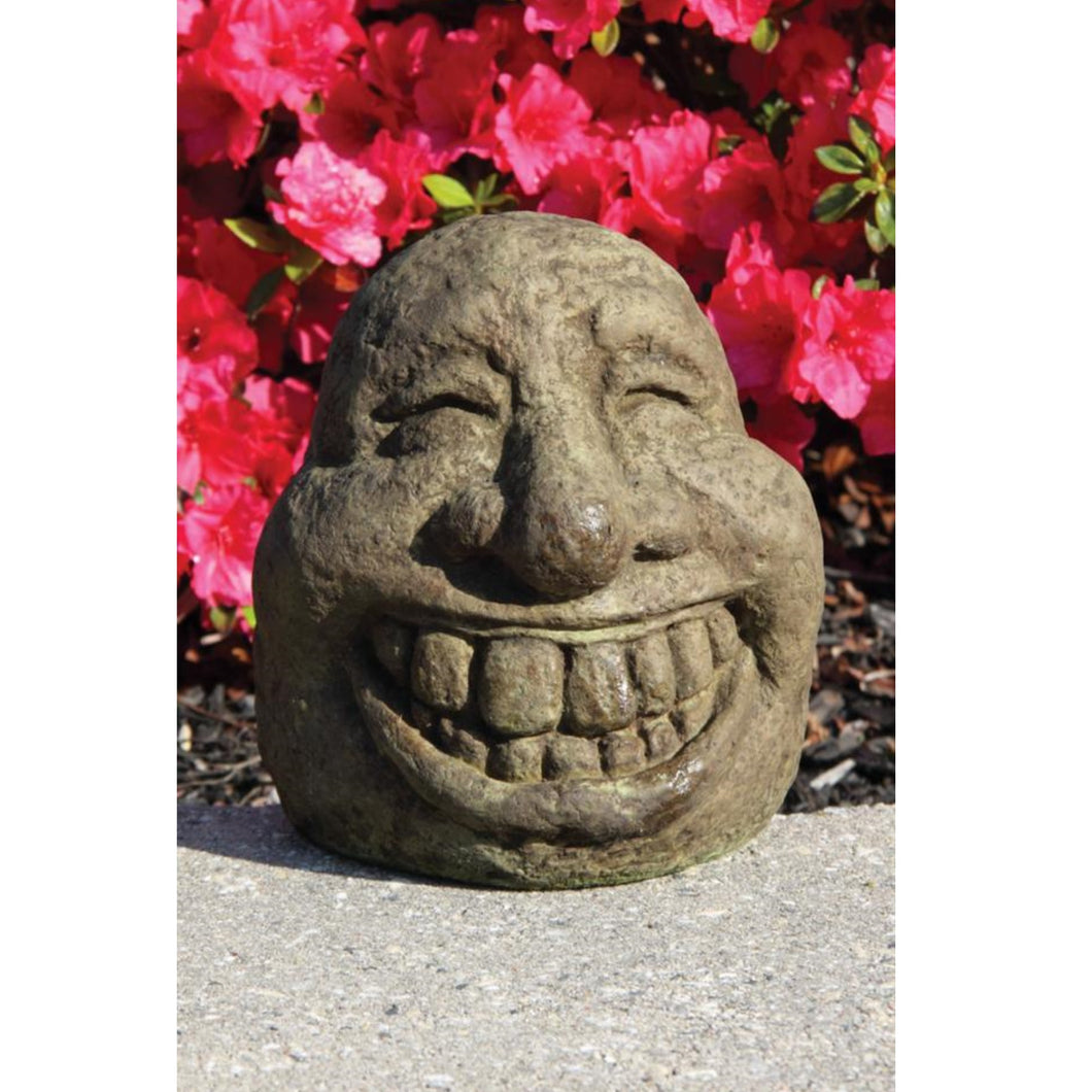 Laughin Face Garden Accent, 7in
