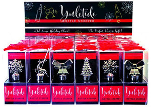 Yuletide Wine Bottle Stopper