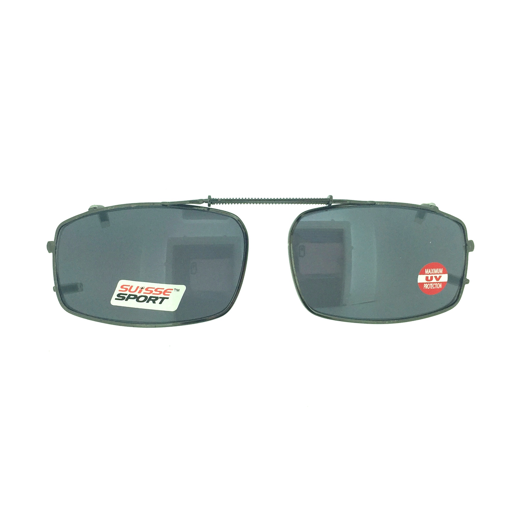 Sunglasses, Clip-ons, Ecosse Sport, Rectangle