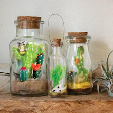 Load image into Gallery viewer, Story Jar: Baja Owl, Handmade Felt Decor in Jar - Floral Acres Greenhouse & Garden Centre