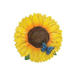 Garden Stone, 8.25in, Sunflower - Floral Acres Greenhouse & Garden Centre