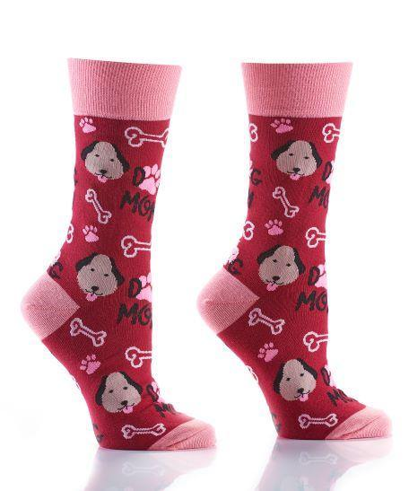 YoSox Women's Crew Socks, Size 6-10, Asst. Styles - Floral Acres Greenhouse & Garden Centre
