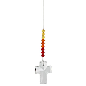Crystal Ornament, Cross Prism