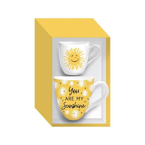Ceramic Mug, You Are My Sunshine Set, 17oz/7oz - Floral Acres Greenhouse & Garden Centre