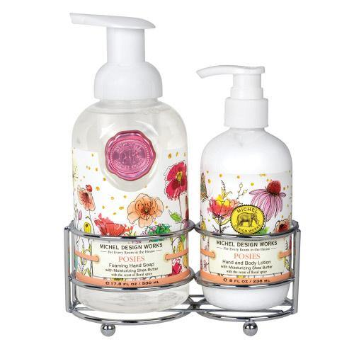 Hand Soap & Lotion w/ Caddy, Asst. Scents - Floral Acres Greenhouse & Garden Centre