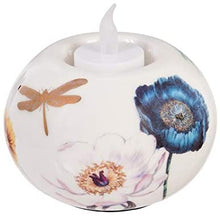 Load image into Gallery viewer, Tealight Holder, Vivid Bouquet, Round, Set of 2