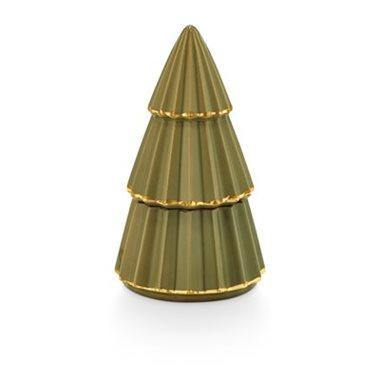 Fresh Balsam Candle, Green Ceramic Tree, 105g